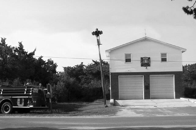 Ocracoke old historical fire house